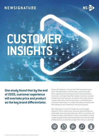 NS:GO Customer Insights 2020 Flyer