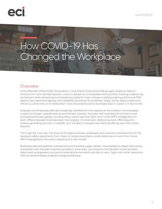 How Covid-19 Changed The Workplace - Home and Building Supply