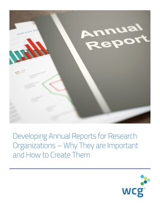 Developing Annual Reports for Research Organizations