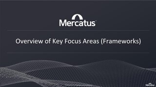 Mercatus Frameworks (Use Cases) - Aug 2020
