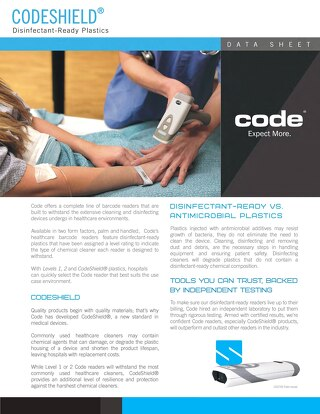 Codeshield® Disinfectant List and Cleaning Guide