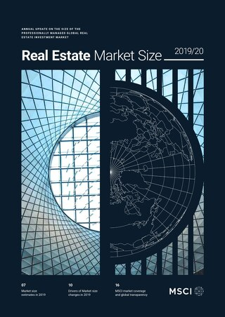 MSCI Real Estate Market Size 2020