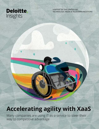 Deloitte Insights Report - Accelerating Agility with XaaS
