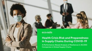 Fokusbericht zum Index 2020: Health Crisis Risk and Preparedness in Supply Chains During COVID19
