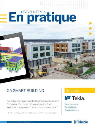 GA Smart Building choisit Tekla