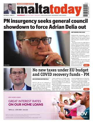 MaltaToday 22 July 2020 MIDWEEK