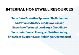 Honeywell Internal Resources