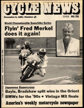 Cycle News 1989 12 06