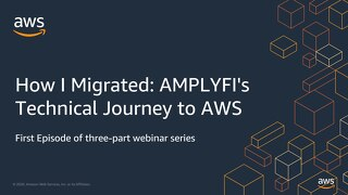 How I Migrated AMPLYFI's Technical Journey to AWS - Slides