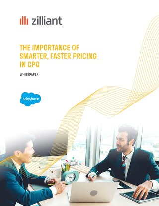Zilliant & Salesforce The Importance of Faster, Smarter Pricing in CPQ