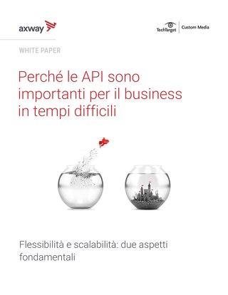 Perché le API sono importanti per il business in tempi difficili