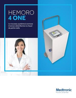Le nouveau système à osmose inverse à désinfection à chaud de petite taille