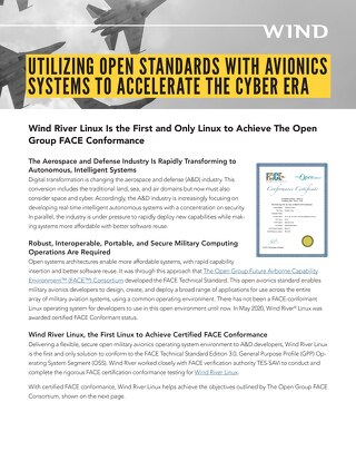 UTILIZING OPEN STANDARDS WITH AVIONICS SYSTEMS