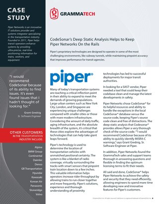 Piper Networks Case Study