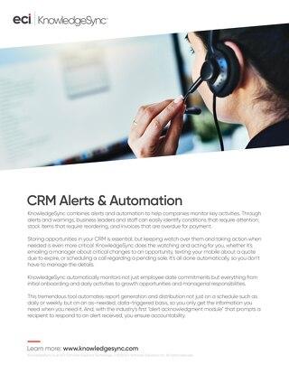 KnowledgeSync CRM Solution Brief