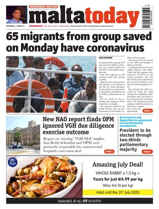 MaltaToday 29 July 2020