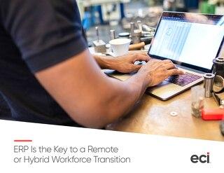 ERP Key Remote Hybrid Workforce Transition