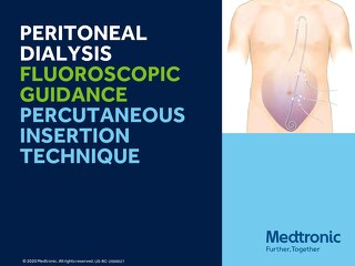 Peritoneal Dialysis Fluoroscopic Guidance Percutaneous Insertion Technique