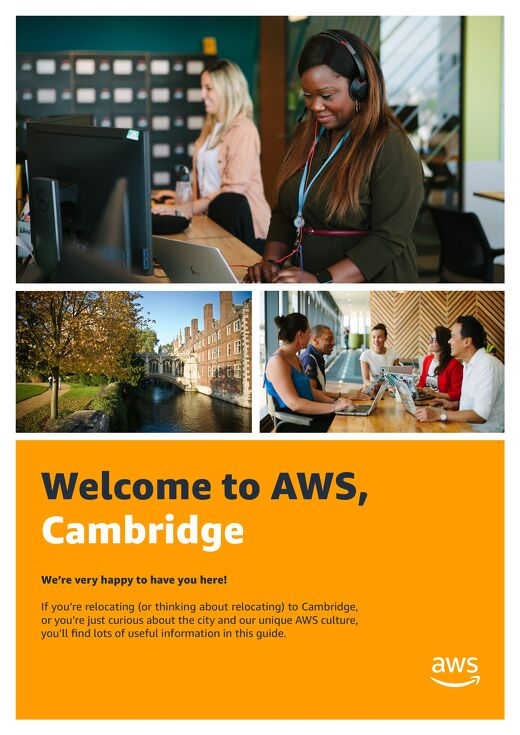 Welcome to AWS, Cambridge