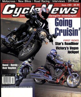 Cycle News 2005 10 26
