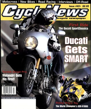 Cycle News 2005 11 02
