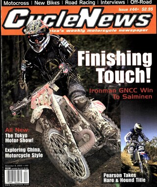 Cycle News 2005 11 09