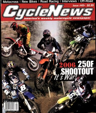 Cycle News 2005 11 16