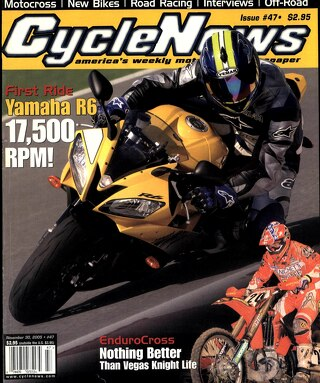 Cycle News 2005 11 30
