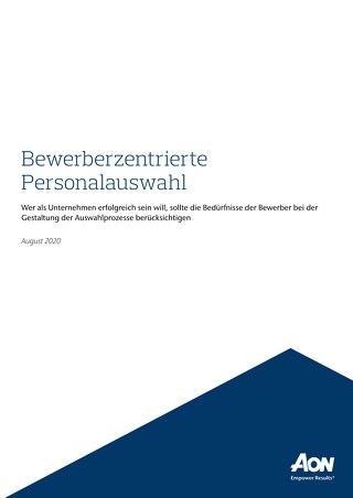 Bewerberzentrierte Personalauswahl Broschüre