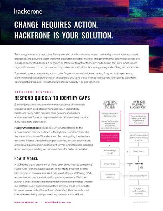 HackerOne Product Offerings Overview