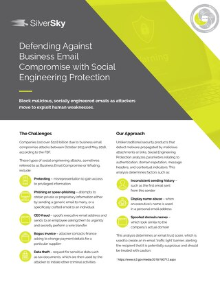 Social Engineering Protection