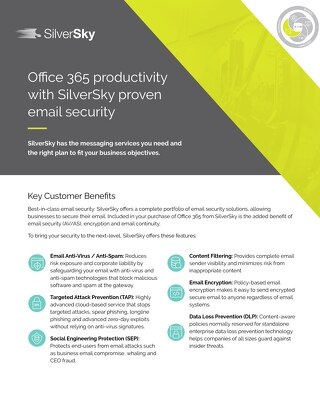 Microsoft 365 Productivity Suite Email Security