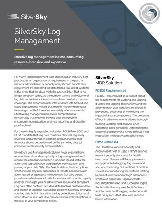 SilverSky Log Management