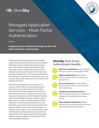 Managed Application Services - Multi-Factor Authentication