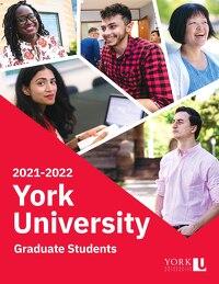 VP Students - Graduate Students - YorkU 2021-2022 Graduate Handbook