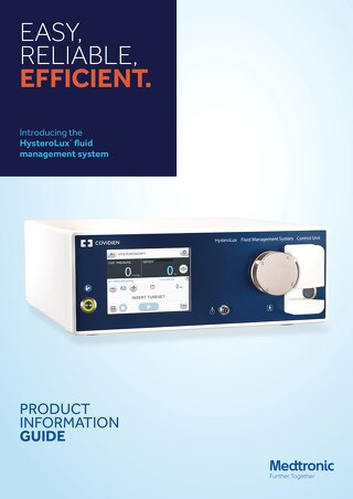 Brochure: HysteroLux™  fluid management system
