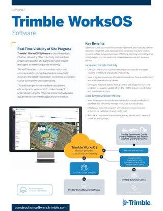 Trimble WorksOS | Solution Sheet