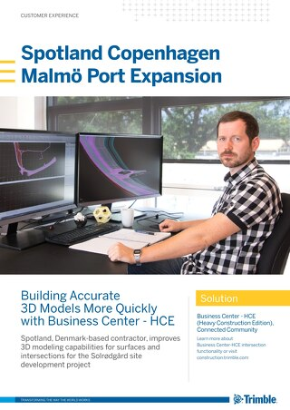 Trimble Business Center | Spotland Customer Story