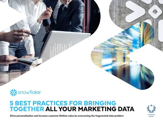 5 Best Practices for Bringing Together All Your Marketing Data