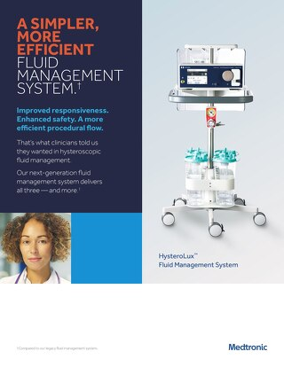 Info Sheet: HysteroLux™ Fluid Management System