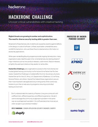 HackerOne Challenge Overview