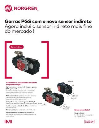 Novo Sensor Indireto para Garras