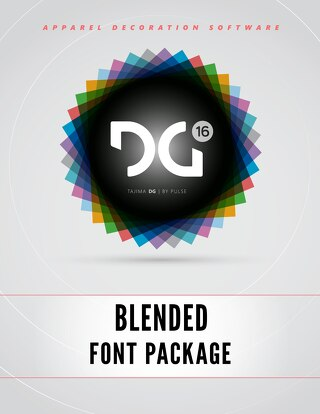 Pulse - DG16 Blended Fonts