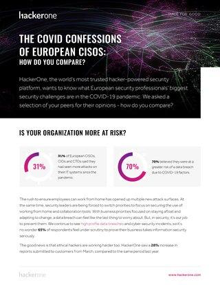 The Covid Confessions Of European CISOs