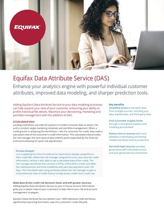 Data Attribute Service (DAS)