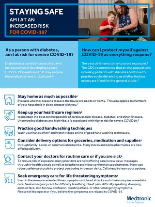 COVID-19 Education for Patients with Diabetes