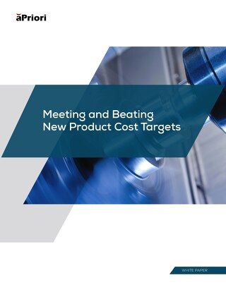 Meeting & Beating New Product Cost Targets