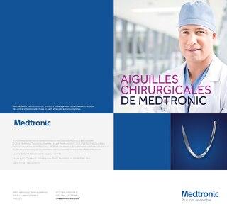 Aiguilles chirurgicales de Medtronic