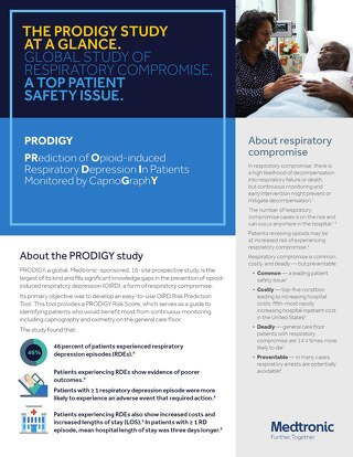 Info Sheet: THE PRODIGY STUDY