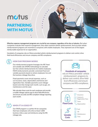 Partnering With Motus - CPM